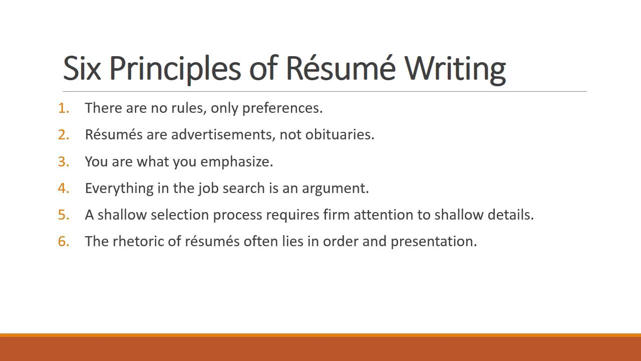 Resume Writing 101 Amazing Resume Writing 101  Youtube