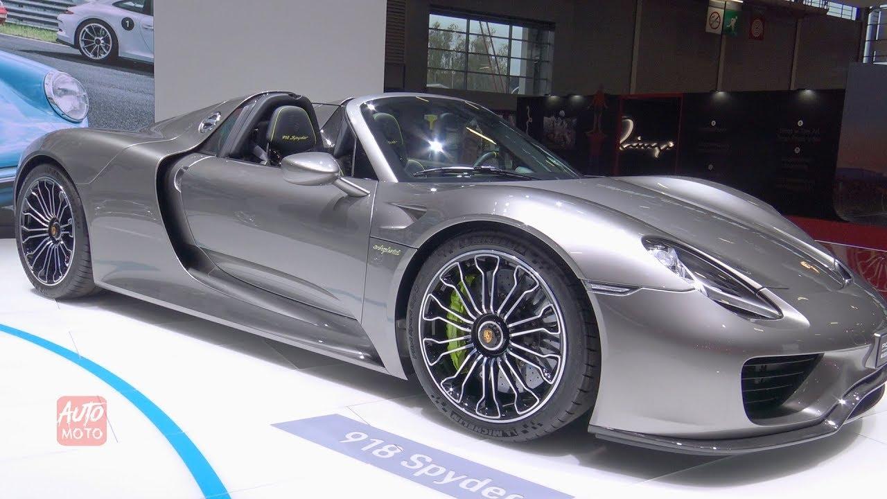 2019 Porsche 918 Spyder e,Hybrid , Exterior Walkaround , 2018 Paris Motor  Show