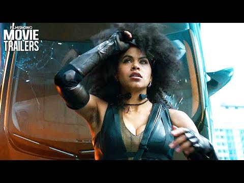 DEADPOOL 2 Movie Clip NEW - Domino Audition