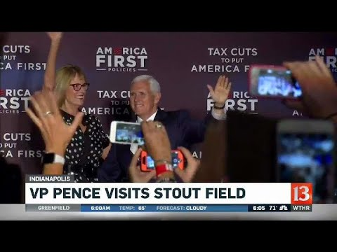 Pence visits Indianapolis