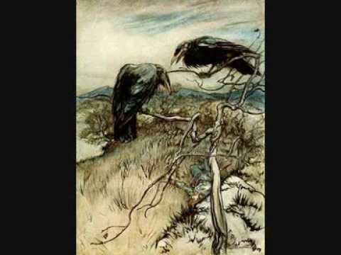 Twa corbies - Two Ravens, English folk ballad, Pied Pipers.