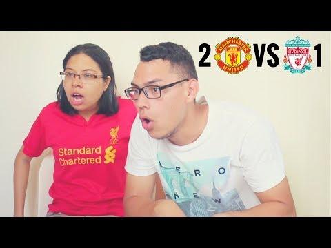 Reacción Manchester United vs Liverpool 10/03/18 (2-1) Premier League 2018