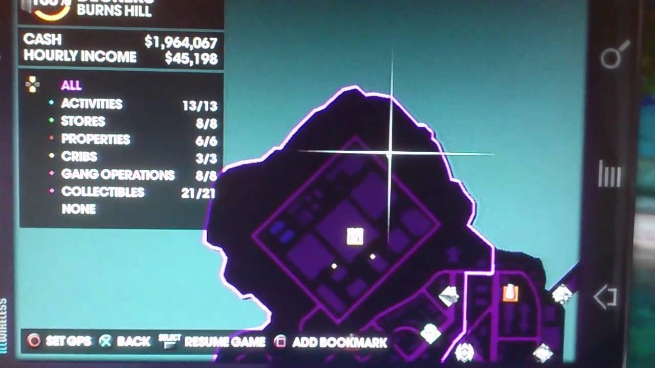 Saint\'s Row 3 New Colvin District Glitch?