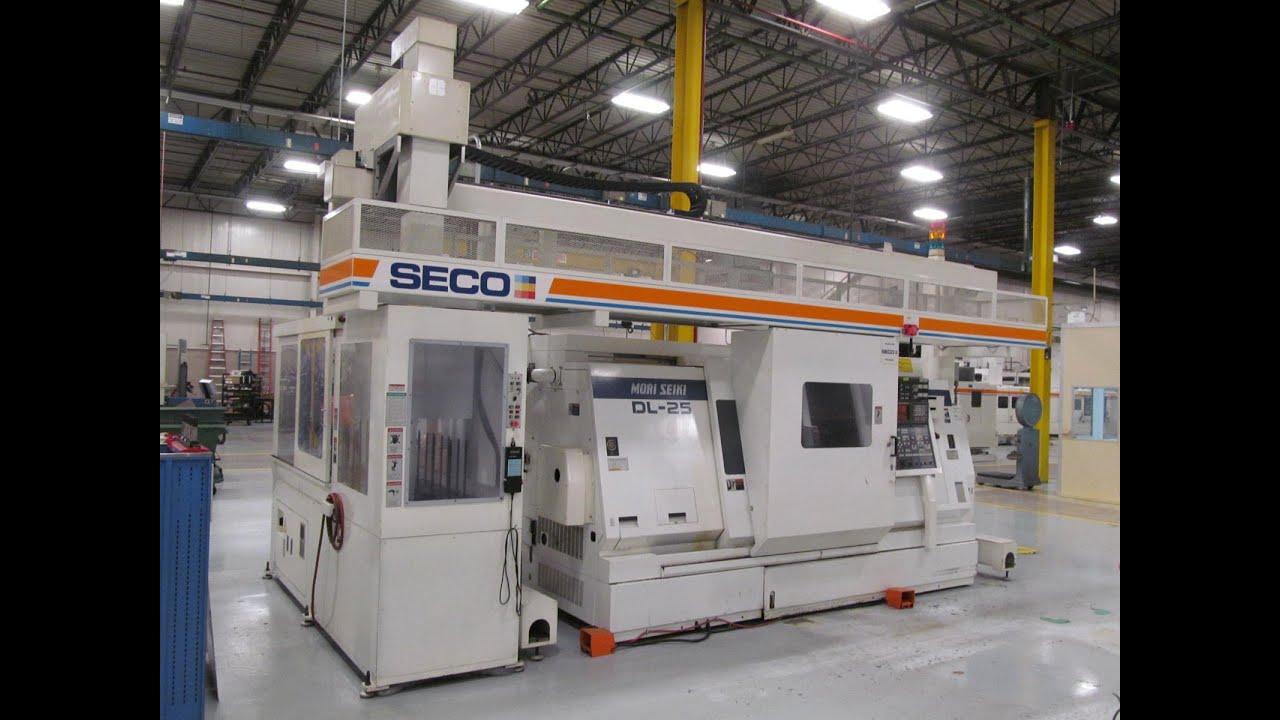 Seco Tools - Webcast Auction - 1 - Mori Seiki SV-50B 5-Axis