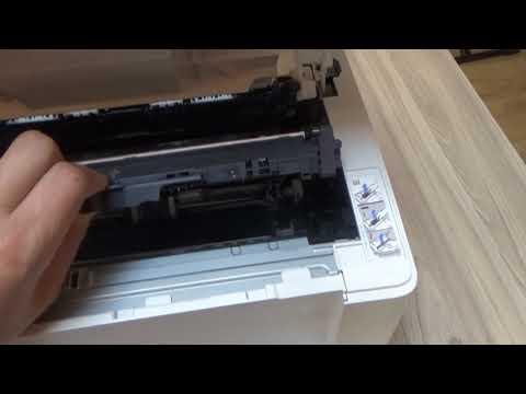 Remove And  Replacing Cartridge HP M102a M102w M104a M104w