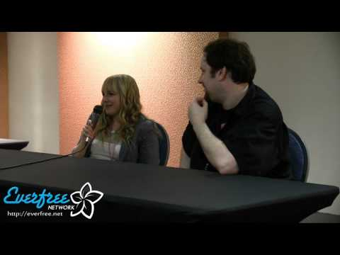 Andrea Libman panel - ANIMATE! Miami 2013