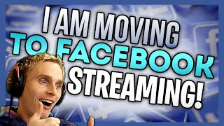 I AM NOW STREAMING ON FACEBOOK!