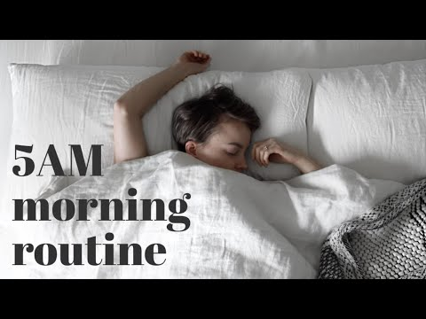 Waking Up At 5AM | My Healthy Morning Routine