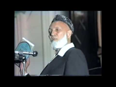 Ahmed Deedat's Fiery Question & Answer Session after Islam & Christianity Lecture with Gary Miller
