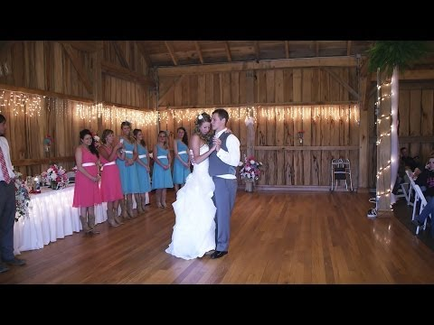Betsy's Barn in Portersville PA - Wedding Ceremony & Reception - Pifemaster Productions