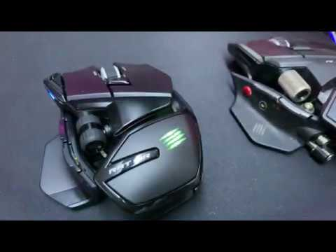 MadCatz RAT AIR Mouse Unboxing And Mini Review