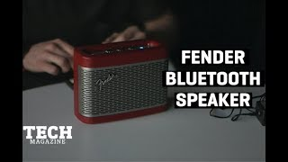 Fender Bluetooth Speaker | Product Review | TECH Magazine ZA