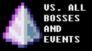 Last Prism Vs. ALL Bosses and Events (Terraria 1.3.2.1)
