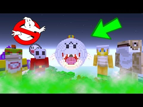 Bowser Jr Ghost Busters HAUNTED HOUSE!  Nintendo Fun House  Minecraft Switch 244