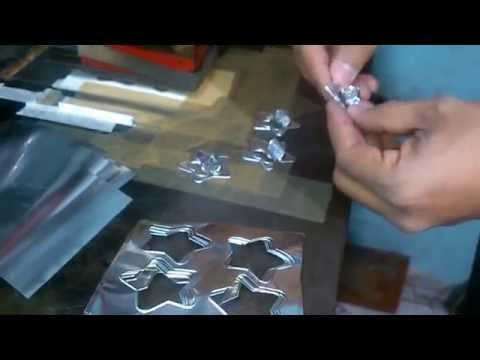 Manualidades y artesanias en metal: repujado en aluminio paso a.