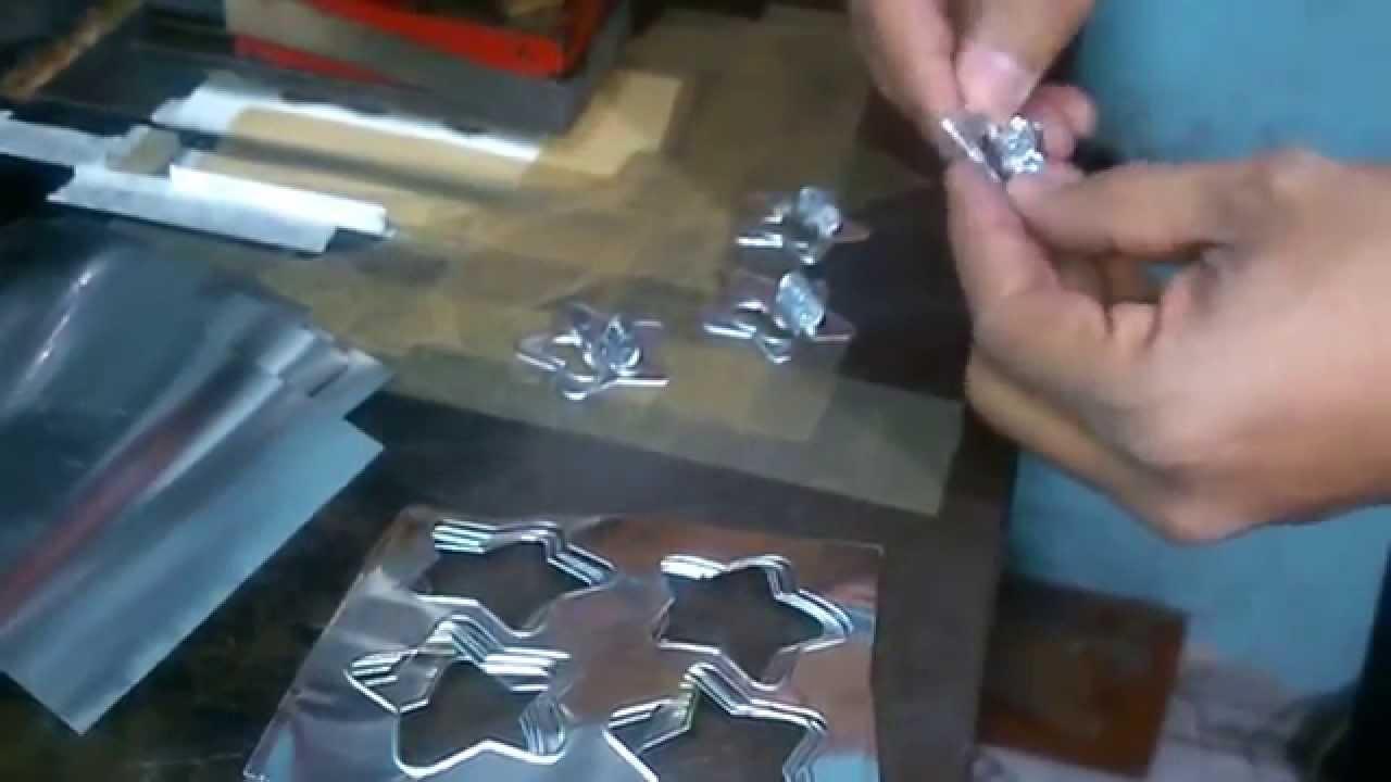 Repujado de aluminio para manualidades youtube for Donde venden vinilos para pared