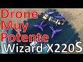 VUELO Eachine Wizard X220s Análisis Español - Drone De Carreras Listo Para Volar 5S