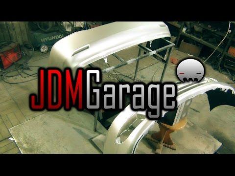 🔰 JDM Garage | Toyota Corolla 120 кузов | Ремонт и покраска бамперов