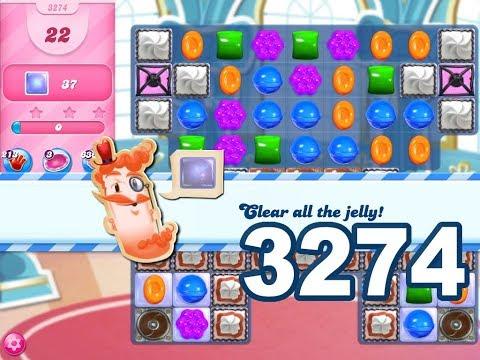 Candy Crush Saga Level 3274 (No boosters)