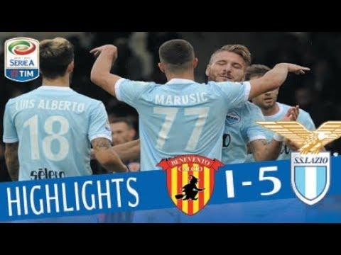Benevento - Lazio 1 - 5 - Highlights - Giornata 11 - Serie A TIM 2017/18