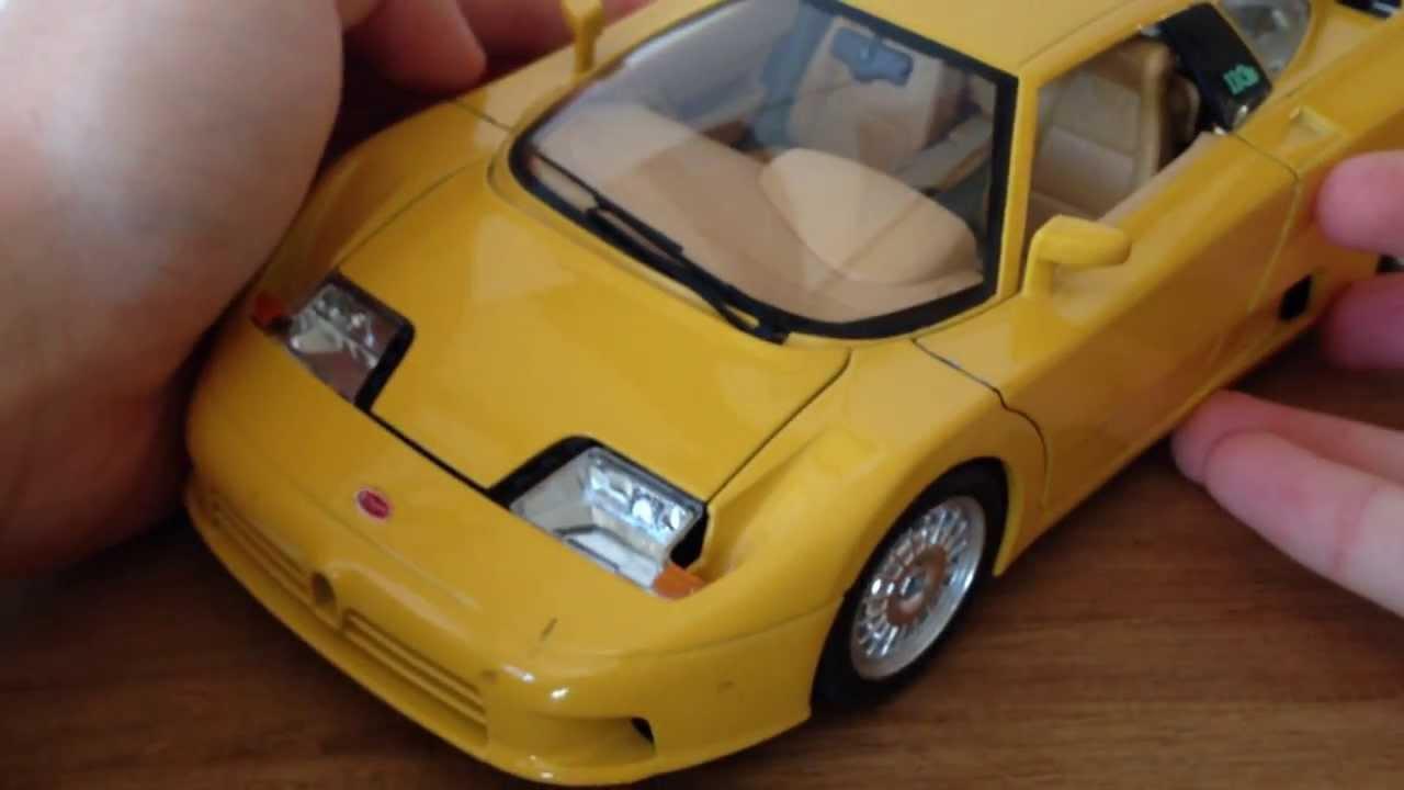 review: 1:18 1991 bugatti eb110bburago - the model garage