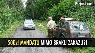 Ile kosztuje wjazd autem do lasu? | Pojechani #144