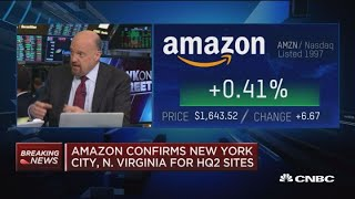 Amazon confirms New York City, North Virginia for HQ2 sites