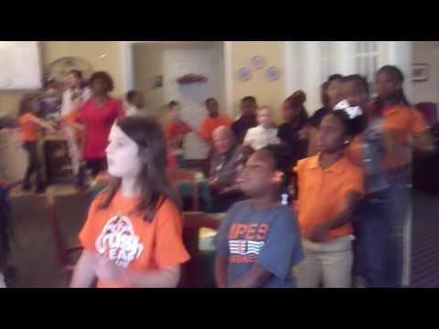 Amanda McDowell Union Parish Elementary School When the Saints Go Marching in Performance
