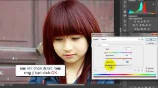 CĐ thực hành FPT - Anhltph02271 - Hướng dẫn đổi màu tóc với photoshop