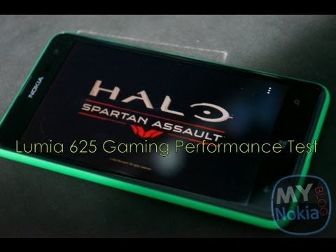 Nokia Lumia 625 Gaming Performance Test