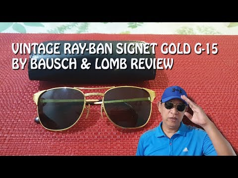 review-of-my-vintage-sunglasses-ray-ban-signet-gold-g-15-b-bausch-&-lomb-|-ray-ban-lovers