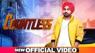 Countless (Official )   Manna Banwait   Nixon   Inderjit Jaria   Latest Punjabi Songs 2019