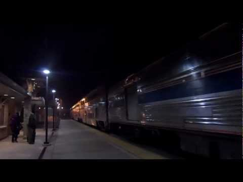 Amtrak Heritage 145 Arrives In Alliance