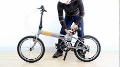 MOBIC Folding Bike Folds in 10 Seconds - Click-n-Lock Technology on Fusion X9 (HD)