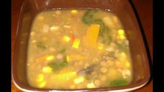 Lentil Barley & Flax Soup