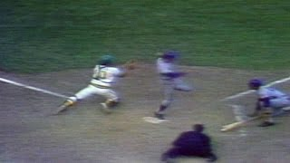 1973 WS Gm2: Mets argue after Harrelson out at home