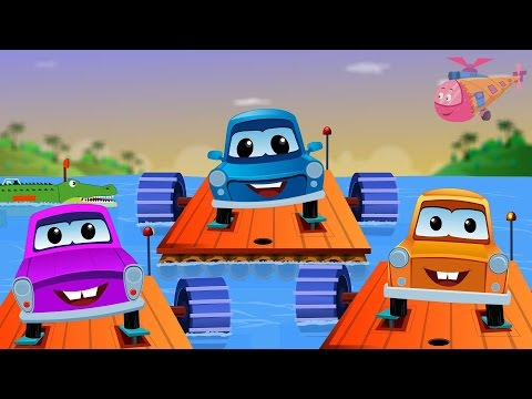 Zeek And Friends | Row Row Row Your Boat | Kids Songs