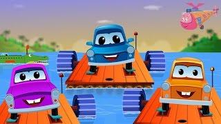 Zeek And Friends | Row Row Row Your Boat | Kids Songs
