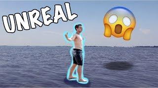 Walking on water! ( real magic)