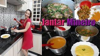 Fazendo janta CASEIRA mineirinha Comigo | Letícia Veloso