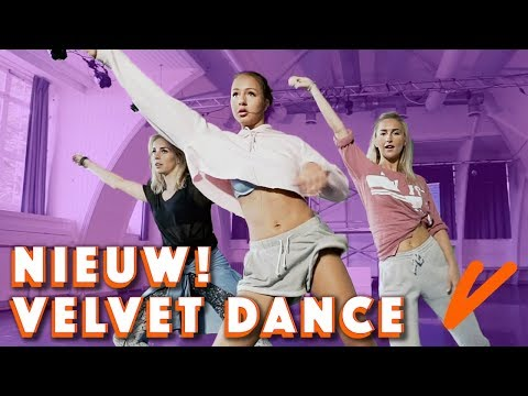 DANS MEE met SOPHIE MILZINK, IRIS en VITA   Velvet Dance - CONCENTRATE VELVET