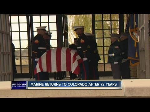 Marine returns to Colorado after 72 years