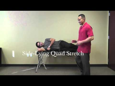 Stretches: Front of Thigh (Quadriceps)
