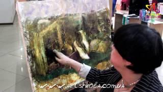 Как нарисовать картину маслом от Елены Ильичевой