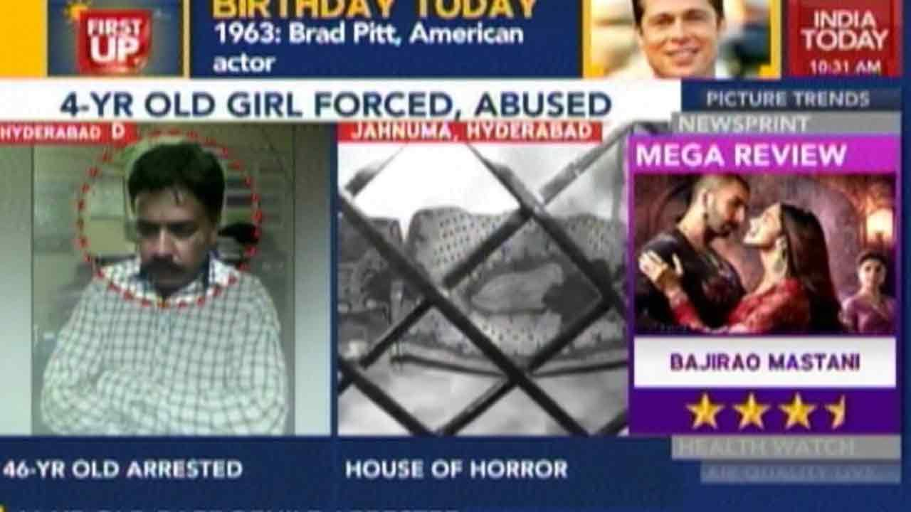 Paedophile Nabbed In Hyderabad