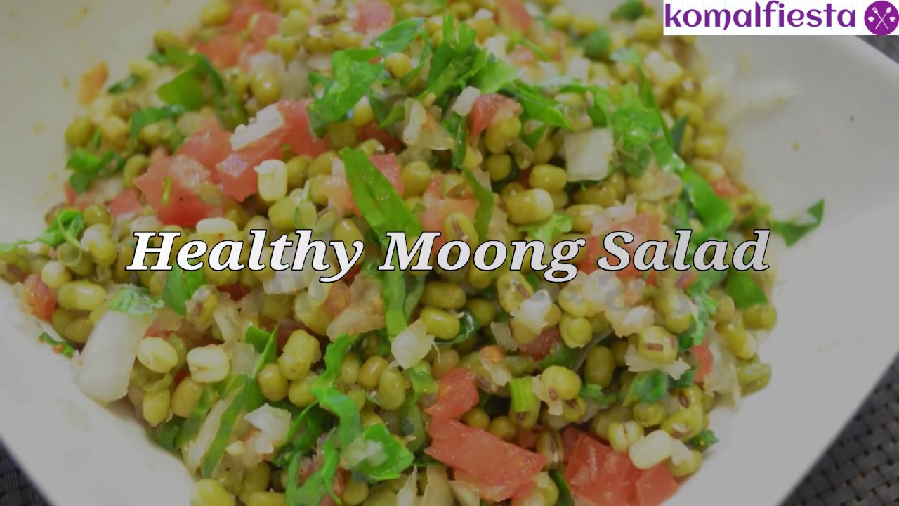 Healthy Moong salad || Diet recipes for weight loss || No ...