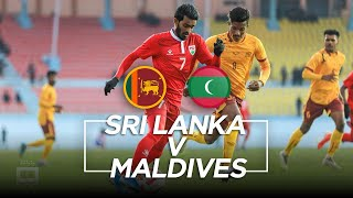 Highlights - Sri Lanka v Maldives | Men's Football | 13th South Asian Games 2019
