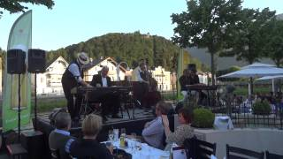 "Music : Boogie Woogie : ""Shake the Lake"" Festival, Bad Ischl : Richie Loidl opening the Show"