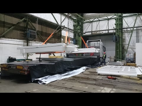 Nadměrný náklad - Heavy Transport - Schwertransport - Transport of  BRI  part  1