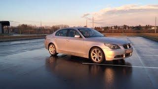 BMW E60 530d меняем фильтра №2